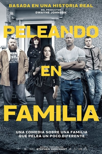 Peleando en familia (Fighting with My Family)