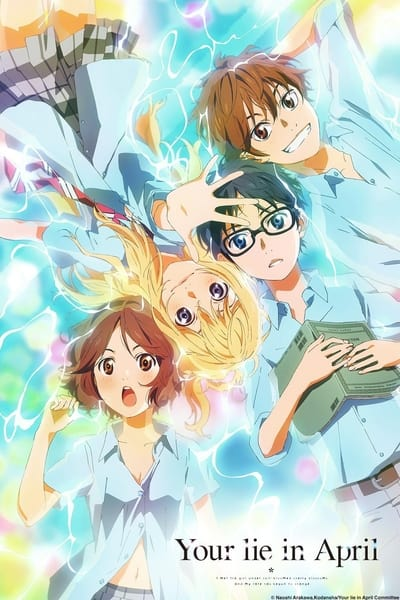 Your Lie in April TV Show Poster