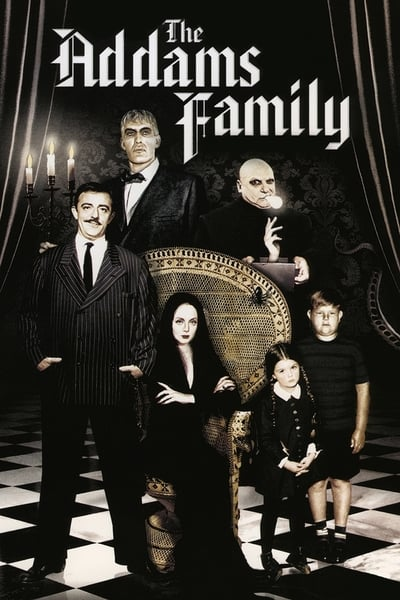 The Addams Family TV Show Poster