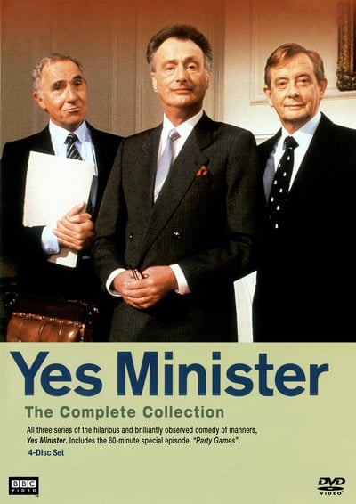 Yes Minister TV Show Poster