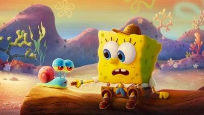 Губка Боб в бегах - кадр из мультфильма