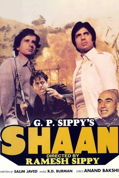 Shaan 1980 HDRip 600MB 480p Full Hindi Movie Download