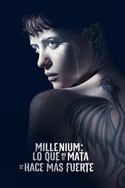 Millennium: Lo que no te mata te hace más fuerte (La chica en la telaraña) (2018)
