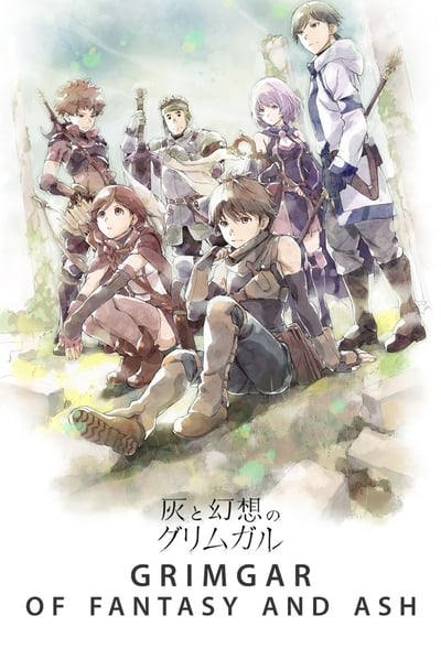 Grimgar of Fantasy and Ash TV Show Poster