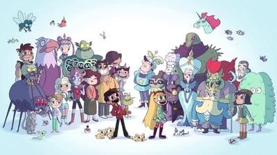 Звёздная принцесса и силы зла - кадр из мультсериала