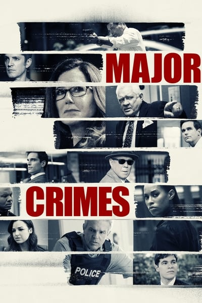 Major Crimes TV Show Poster