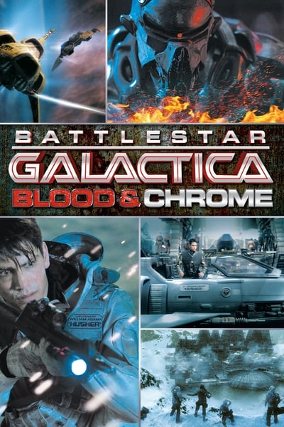 Battlestar Galactica: Blood & Chrome TV Show Poster