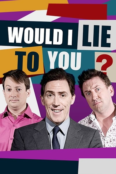 Would I Lie to You? TV Show Poster