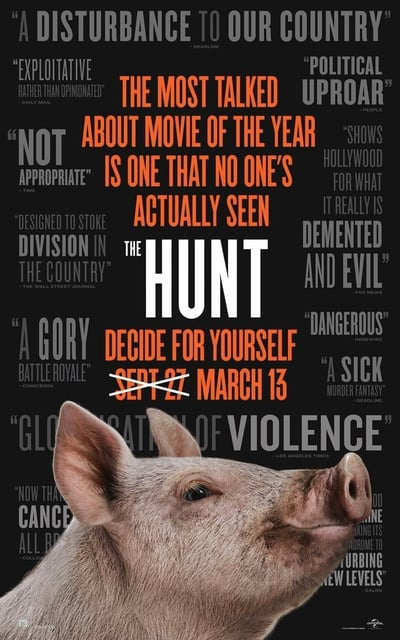 The Hunt 2020 HDRip 300MB 480p Full English Movie Download