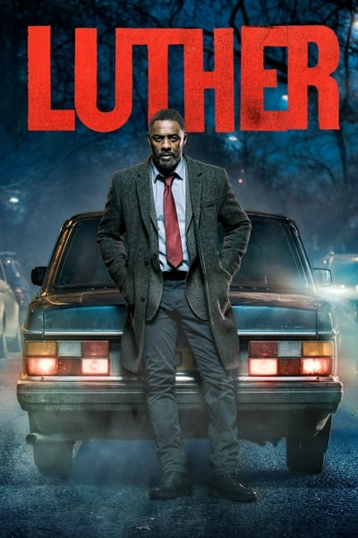 Luther TV Show Poster