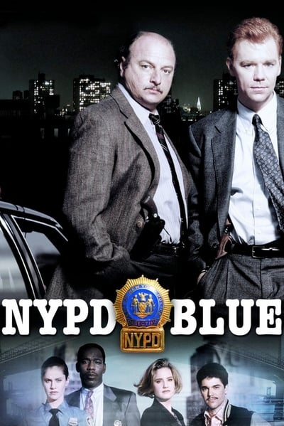 NYPD Blue TV Show Poster
