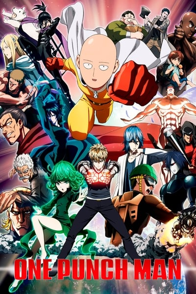 One-Punch Man TV Show Poster