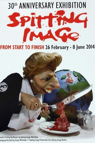 Spitting Image TV Show Poster