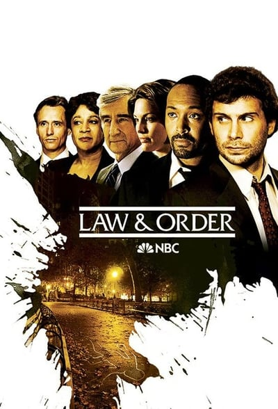 Law & Order TV Show Poster