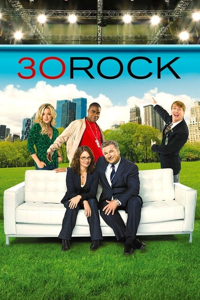 30 Rock TV Show Poster