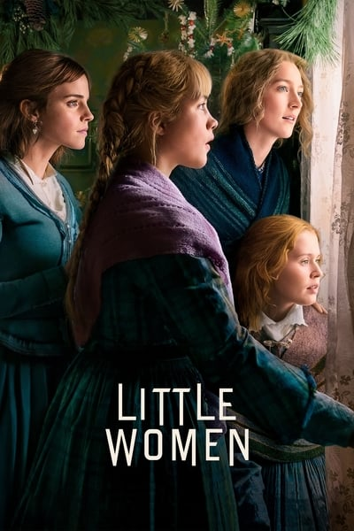 Poster of Little Women 2019 Full English Free Download Watch Online In HD Movie Download 480p HDRip