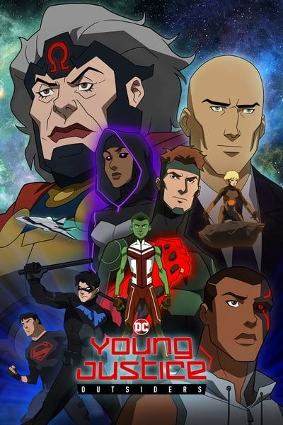 Young Justice TV Show Poster