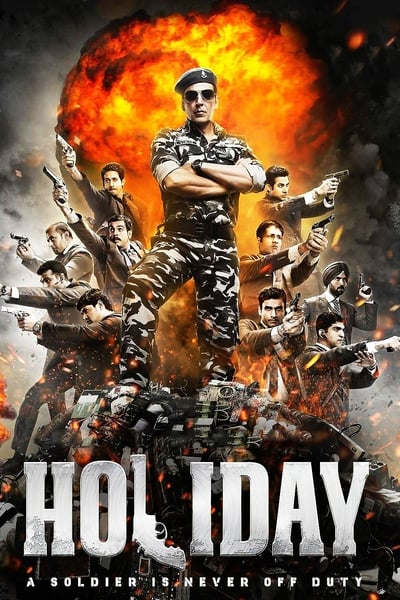 Holiday 2014 BluRay 400MB 480p Full Hindi Movie Download