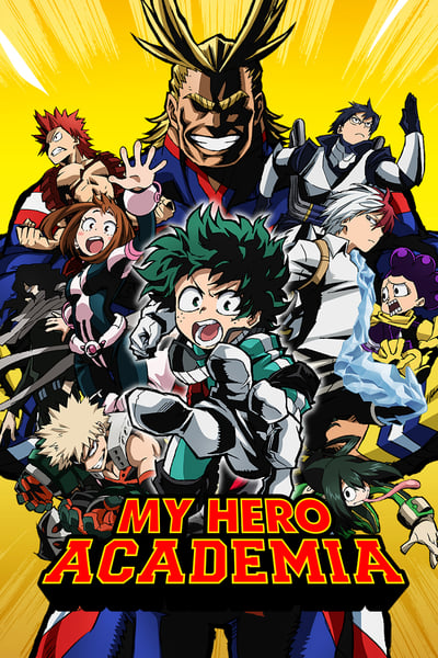 My Hero Academia TV Show Poster
