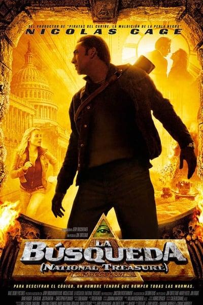 La búsqueda (National Treasure) La leyenda del tesoro perdido (2004)