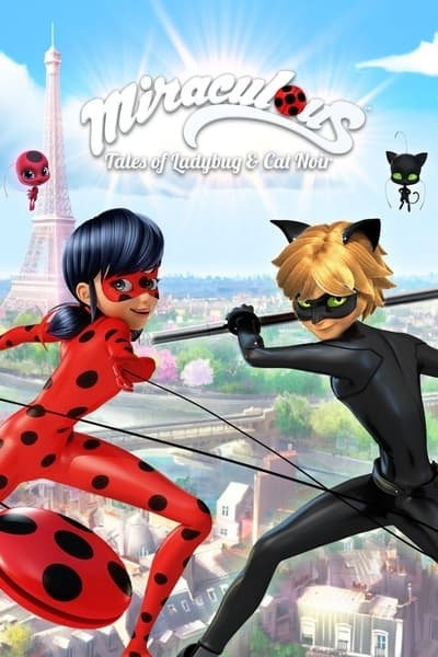 Miraculous: Tales of Ladybug & Cat Noir TV Show Poster