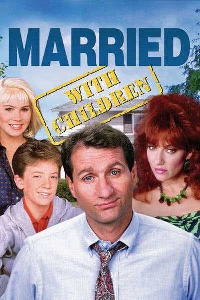 Married... with Children TV Show Poster