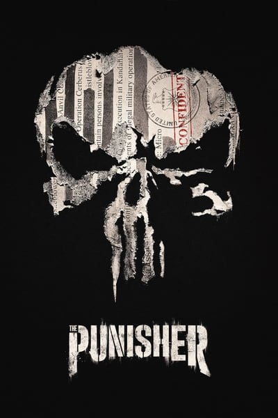 Marvel's The Punisher TV Show Poster
