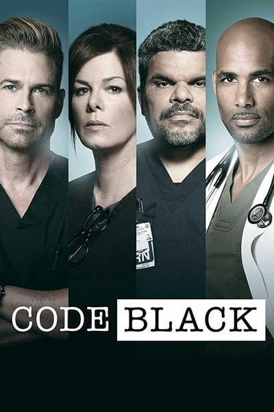 Code Black TV Show Poster