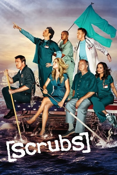 Scrubs TV Show Poster