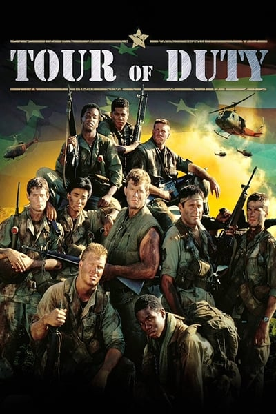 Tour of Duty TV Show Poster