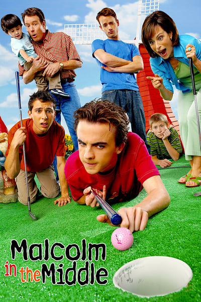 Malcolm in the Middle TV Show Poster