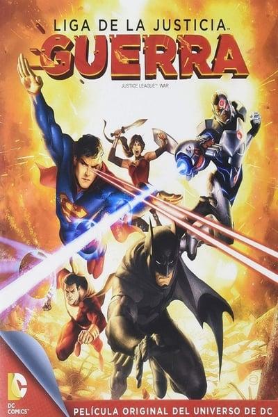 Liga de la Justicia: Guerra (2014)