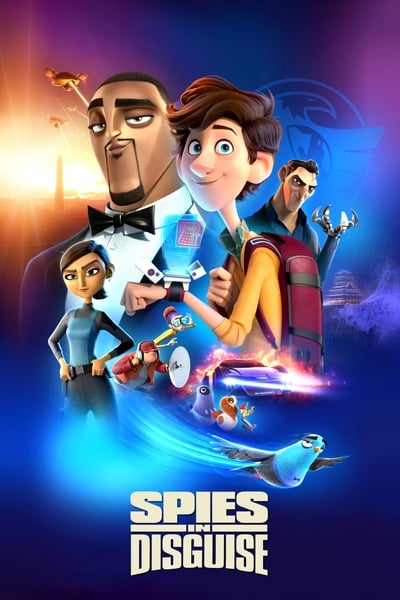 Spies in Disguise 2019 720p BluRay Dual Audio In Hindi English