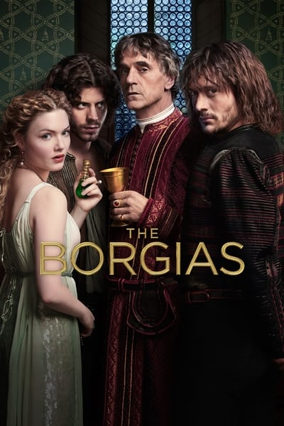 The Borgias TV Show Poster