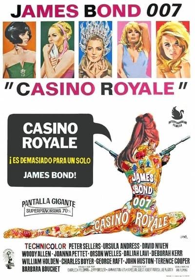Mira Casino Royale 1967 Película Completa En Línea Gratis