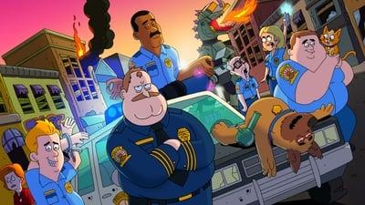 Полиция Парадайза - кадр из мультсериала
