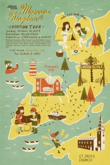Moonrise Kingdom: Welcome to the Island of New Penzance