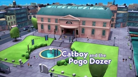 Catboy and the Pogo-Dozer