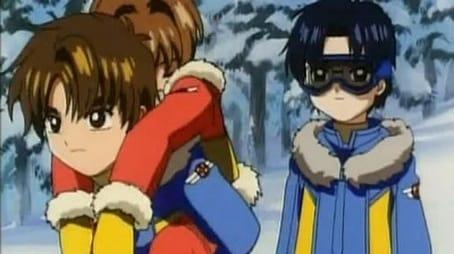 Sakura und die verschneite Ski-Klasse