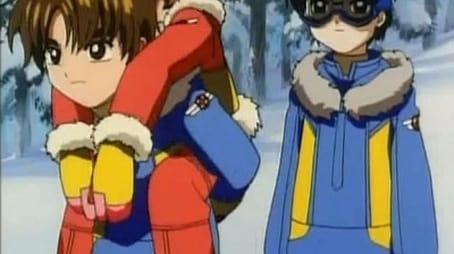 Sakura and the Snow-blowing Ski School
