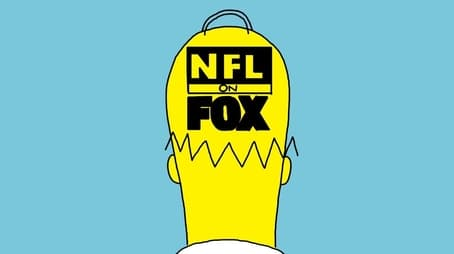 Homer and Bart Visit the NFL on FOX