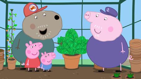 Grandpa Pig's Greenhouse