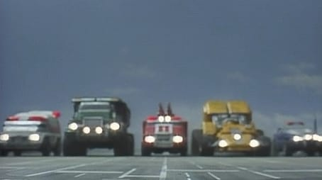 A Crashing Debut! The Working Vehicles!!