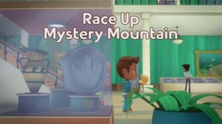 Race Up to Mystery Mountain