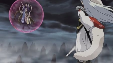 Destroy Naraku with the Adamant Barrage!