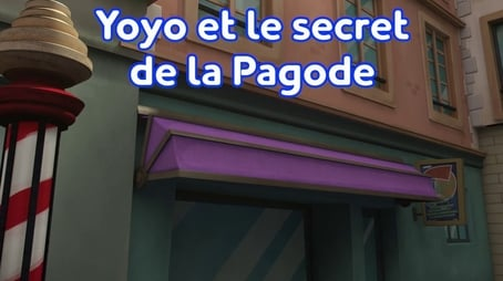 The Secret of the Pagoda