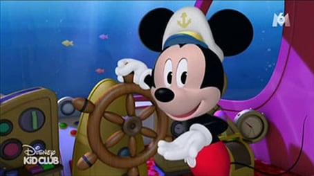 Aye Aye Captain Mickey