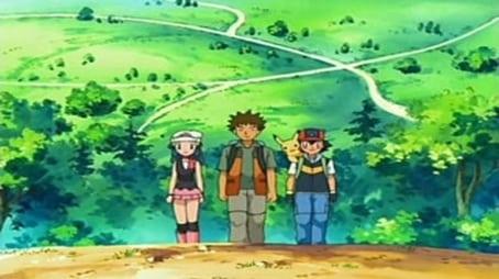 (Satoshi and Hikari! Head for a New Adventure!!)