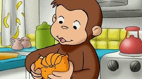 Curious George, A Peeling Monkey
