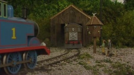 Toby's New Shed
